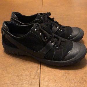 Black Suede Cole Haan x Nike Waterproof Shoes 8.5